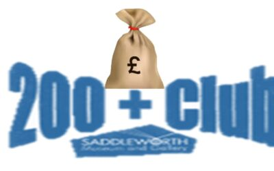 Saddleworth Museum re-launches their monthly lottery scheme.