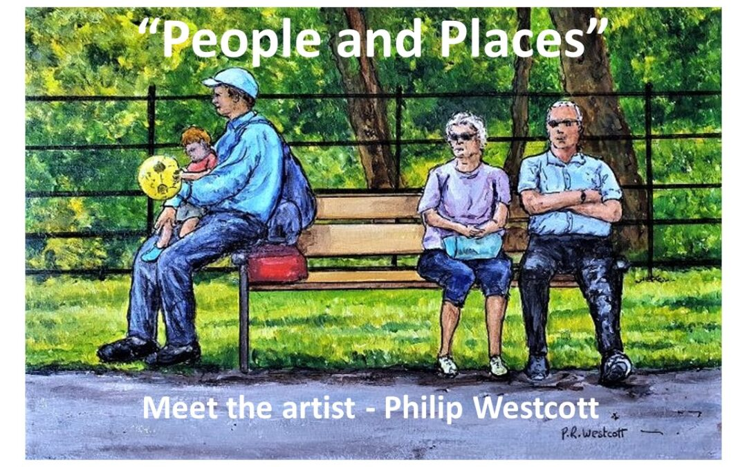 MEET THE ARTIST Preview day of our new art exhibition > free to view